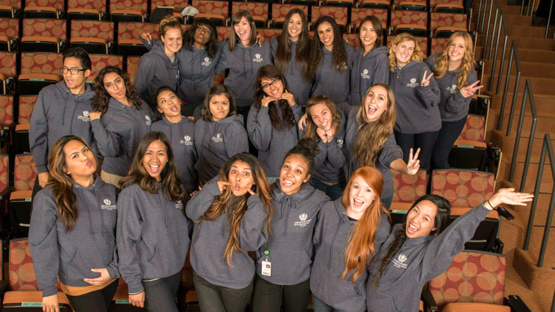 Speech Pathology Students from the School of Allied Health at Loma Linda University