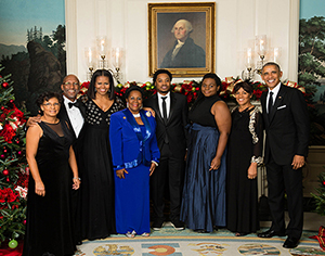 Dean Craig Jackson Meets President Obama at the White House Christmas Party