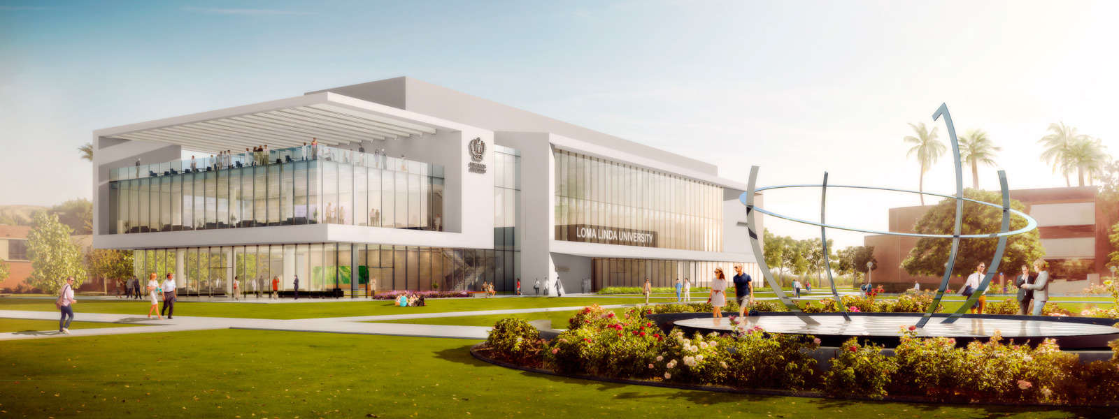 Vision 2020 Concept Building at Loma Linda University
