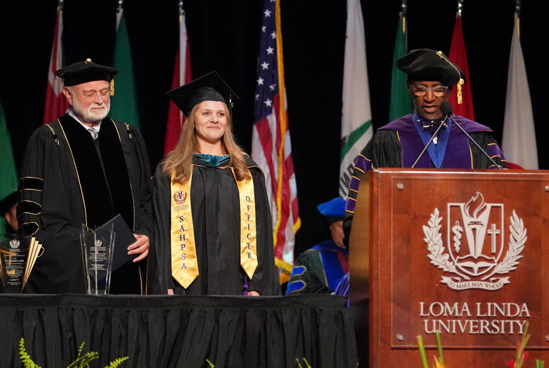 LLU SAHP Conferring of Degrees 2019